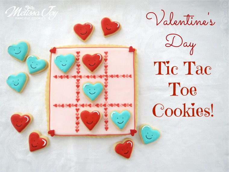 Valentine Cookies by Melissa Joy