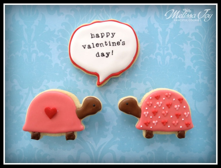 Valentine's Day Turtle Cookies by Melissa Joy