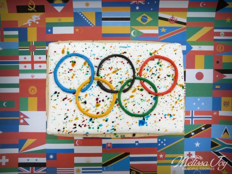 Olympic Rings by Melissa Joy Cookies