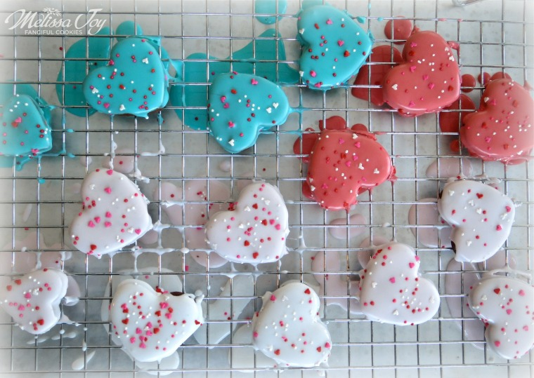 Valentine Heart Cookies-animal cracker style by Melissa Joy