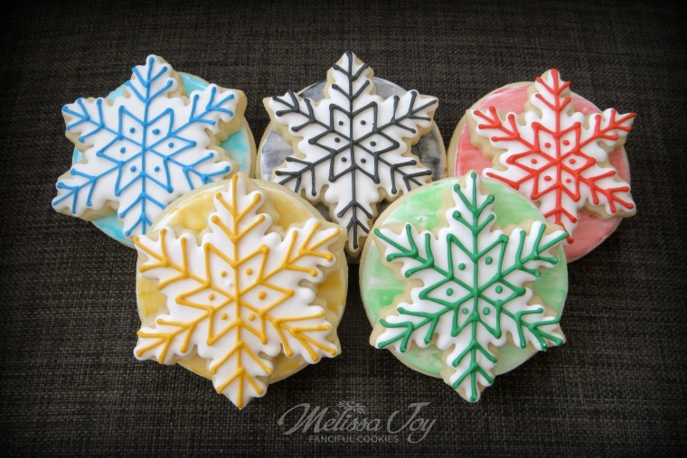 Winter Olympics Cookies