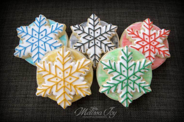 Winter Olympics Cookies