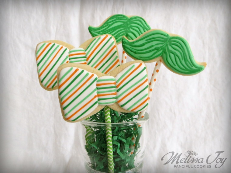 Bow Tie and Mustache Cookies by Melissa Joy Cookies.jpg