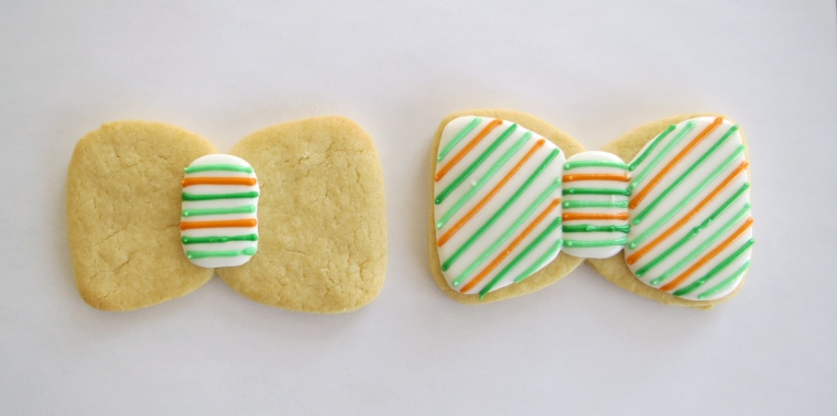bow tie cookie how to