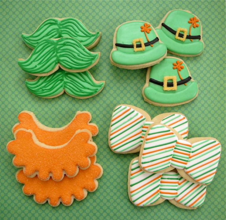 St. Patrick's Day Cookies by Melissa Joy Cookies