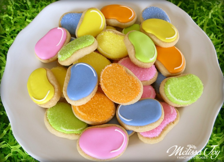 jelly bean cookies by melissa joy