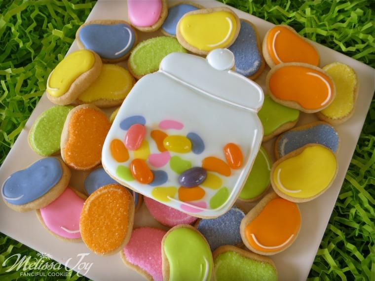 Jelly Bean Jar Cookie by Melissa Joy