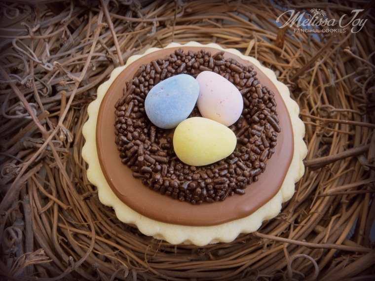 Nest Cookies with Cadbury Eggs by Melissa Joy Cookies.jpg