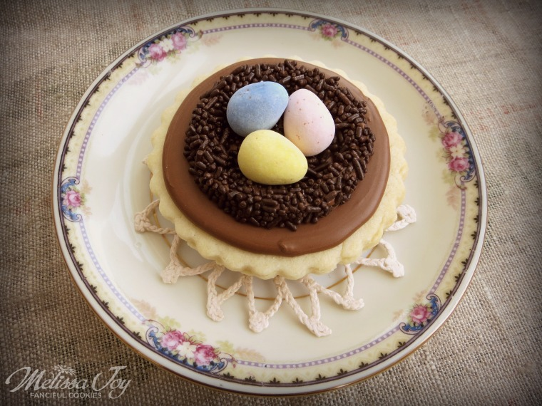 Spring Nest Cookies by Melissa Joy