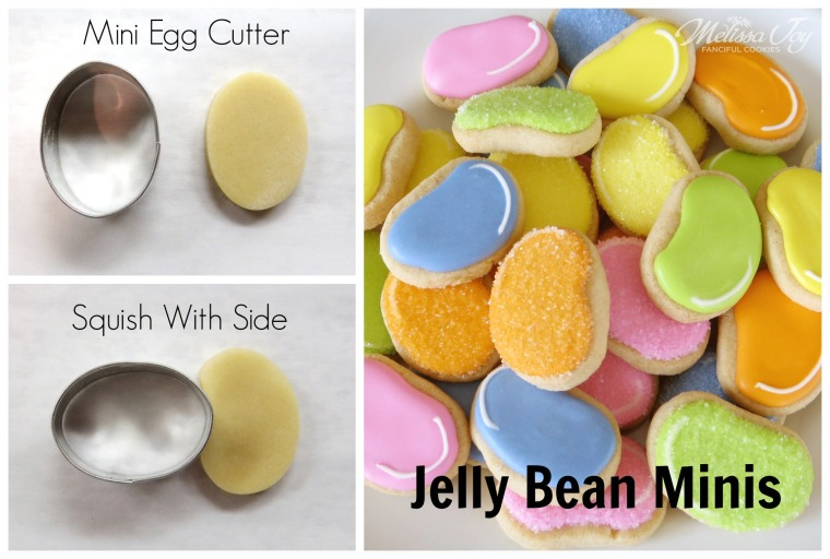 Tiny Tutorial Jelly Bean Mini Cookies by Melissa Joy