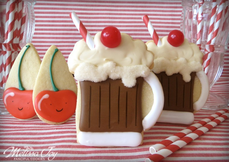 Root Beer Float by Melissa Joy Cookies