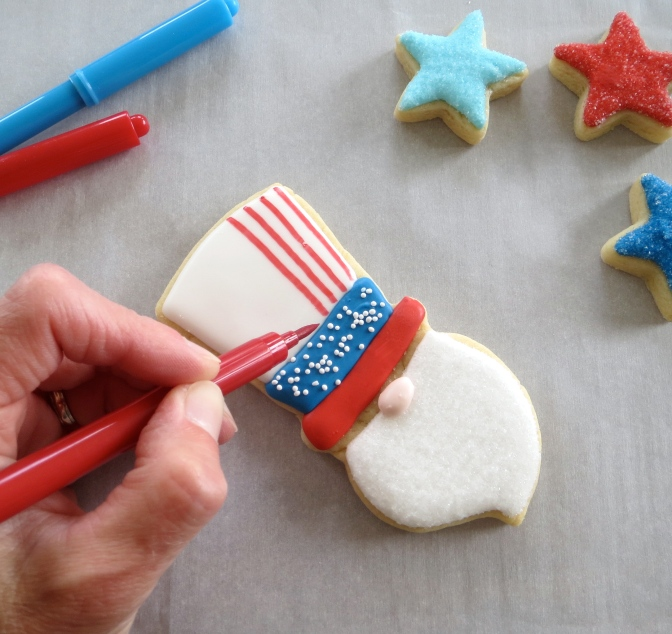 Uncle Sam How To by Melissa Joy Cookies