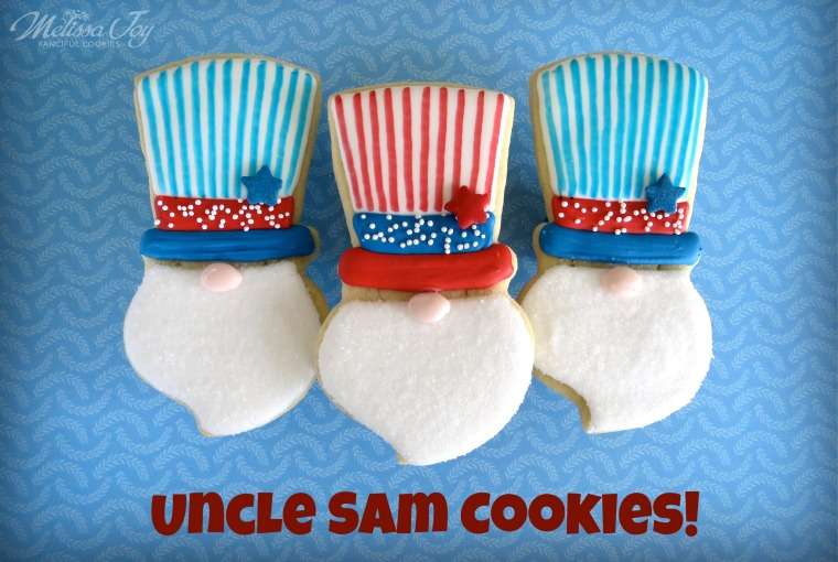 Uncle Sam Cookies