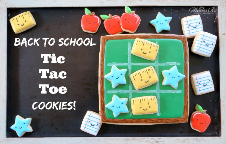 Back to school cookie game by melissa joy