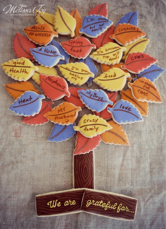 Gratitude Cookie Tree by Melissa Joy