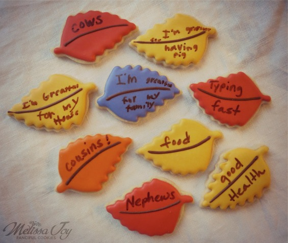 Gratitude Cookies by Family
