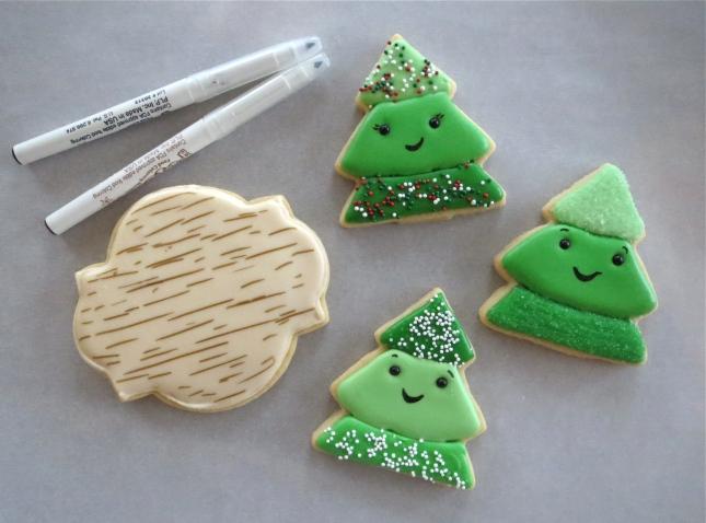 Christmas Tree Farm Cookie How-To