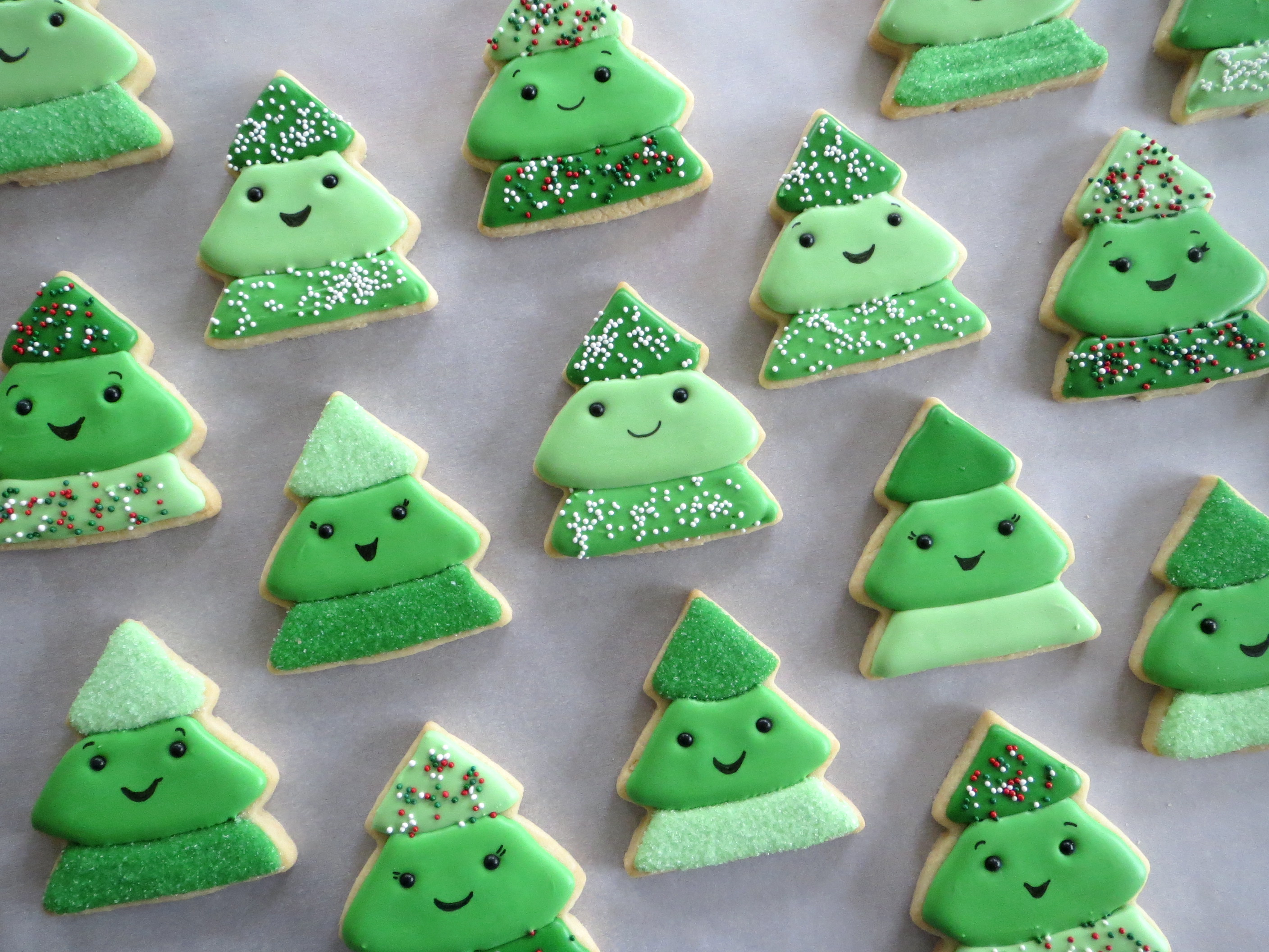Christmas Tree Farm Cookies Melissa Joy Cookies