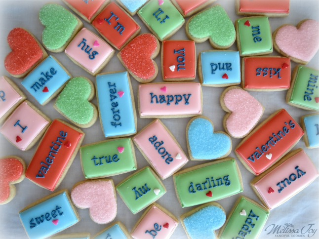 Cookie Tiles for Valentine's Day by Melissa Joy