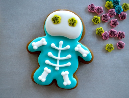 skeleton cookie how-to