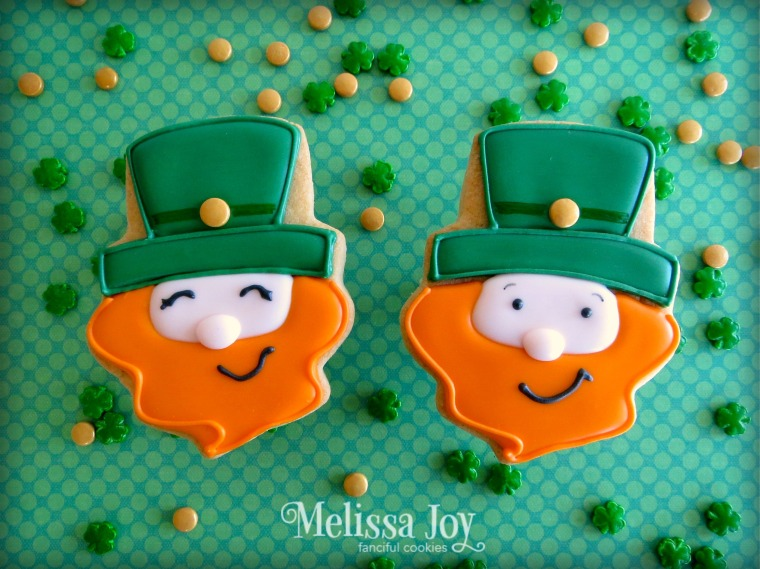 Leprechaun Cookies by Melissa Joy Cookies
