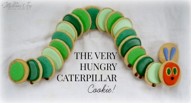 The Very Hungry Caterpillar Cookie Platter