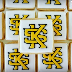 Kennesaw State University Logo Cookies