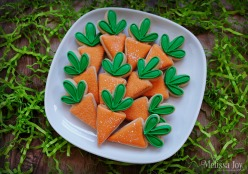 Mini Carrot Cookies