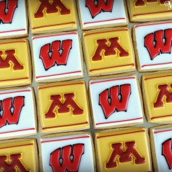 University of Minnesota-U of M logo gopher cookies